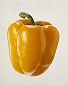 Whole Yellow Bell Pepper