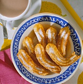 Churros (Spanish fried dough strips)