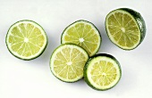Lime Half and Lime Slices