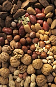 Still Life of Assorted Nuts and Seeds