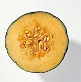Half of a Cantaloupe; Cross Section