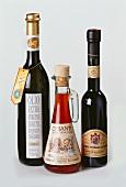 Olivenöl, Weinessig & Balsamicoessig