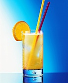 Andalousia Cooler in long drink glass with straws