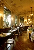 Interior view of Café Platti in Turin, Italy