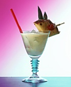 "A glass of ""Baby Pina Colada"""