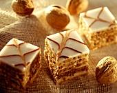 Esterhazy nut slices