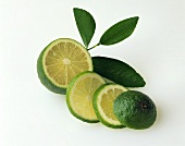 A Lime Sliced Three Times