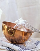 Mixing Icing in a Copper Bowl