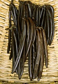 The flavour of the vanilla pods has developed after a year