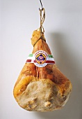 Prosciotto Hanging on a Meat Hook