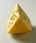 Wedge of Swiss Cheese
