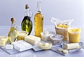Various animal & plant fats & oils