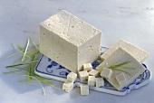 Ein Stück Tofu, Tofuscheiben & -würfel