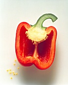 Half of a Red Bell Pepper