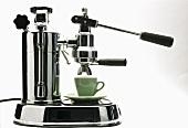 Espresso Machine with Espresso Cup