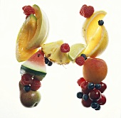 Fruit Forming the Letter H