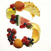 Fruit Forming the Letter S