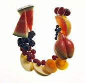 Fruit Forming the Letter U