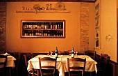 Italian Restaurant Table