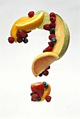 Fruit Punctuation; A Question Mark