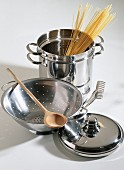 Assorted Pasta Cooking Tools