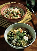 Two Types of Asian Soups