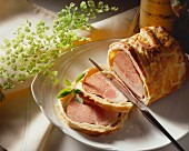 Roast Pork with Bread Coating