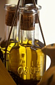 Olive oil in bottles of the French firm Oliver & Co