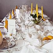 A Festive Table Setting