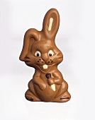 Chocolate Easter bunny (brown & white chocolate)