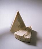 Two pieces of Pecorino Romano Gold (Italian hard cheese)