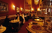 View into Vienna coffee house (Café of Hotel Sacher, Vienna)