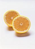 A White Grapefruit Cut in Half
