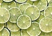 Many Lime Slices