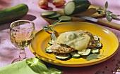 Scaloppina gratinata (veal escalopes au gratin, Italy)