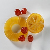 Pineapple Cherries and Orange
