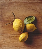 Three Lemons on the Branch
