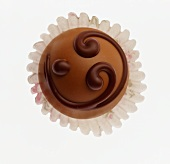 A Decorated Chocolate Truffle