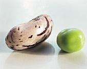 Borlotti bean and green pea