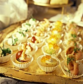 Assorted Appetizers for New Year's Eve