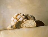 Light-coloured breads