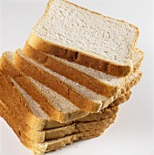 A few slices of toasting bread