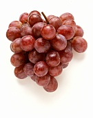 A bunch of rose grapes from the market (table grapes)