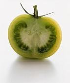 Half of a Green Tomato