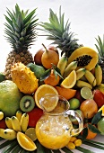 Exotic Fruit and Juice
