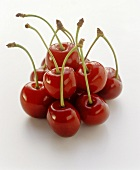 Several German sweet cherries (Knorpelkirschen)