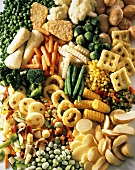 Assorted Frozen Vegetables and Vegetable Products