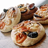 Sweet Pastries with Dried Fruits