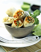 Wraps with Meat