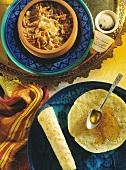 Brotauflauf (Ägypten) & Honigwaben-Pfannkuchen (Marokko)